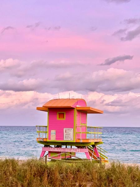 Pink Sunset Stand
