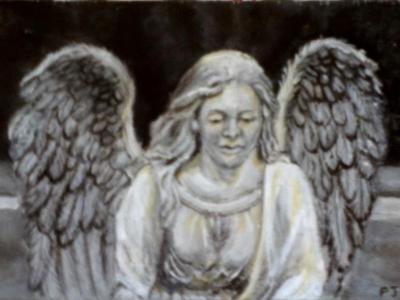 Study of a Stone Angel