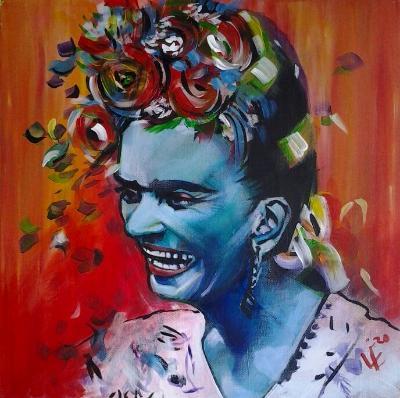 Blue Frida