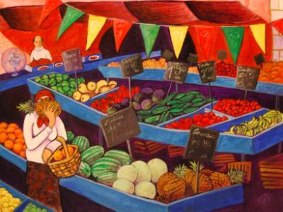 Grenoble Farmer's Market