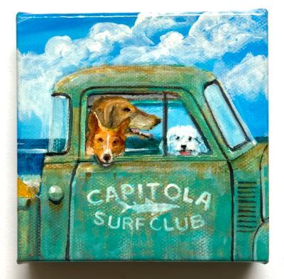 THE CAPITOLA SURF CLUB ON PATROL