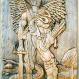 ANGEL MIHAEL AND DRAGON