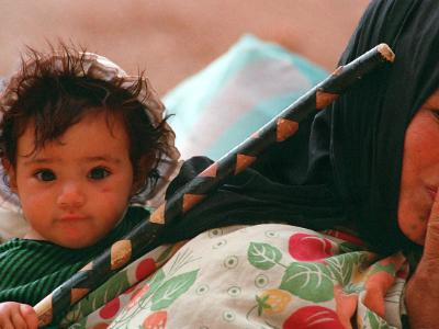 Berber Child and Mother