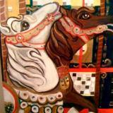 Carousel city park ( horses)