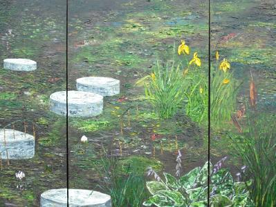 'Across the pond'