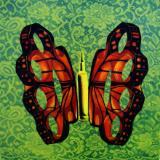 brass knuckles butterfly