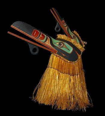 Kwaguilth Multiple Raven Mask
