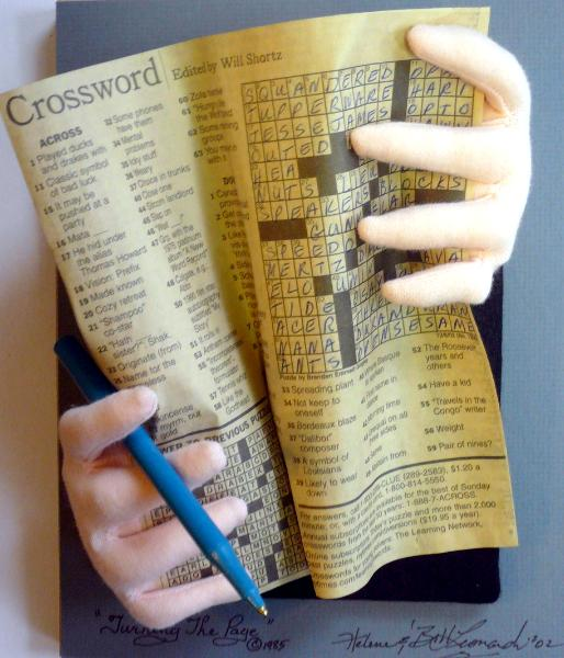 the crossword puzzle solver helene s cupcake and dessert art w