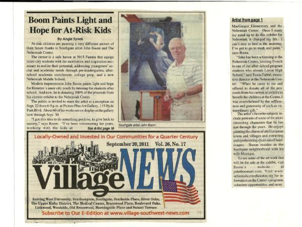 Village News Article