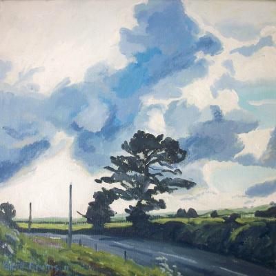 Big skies near Bow, Mid Devon