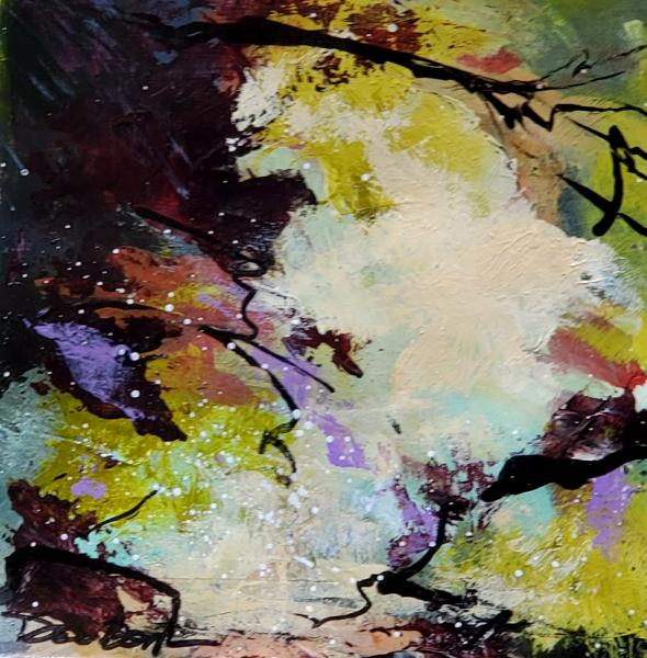 Mixed Media Limited Palette Study #1