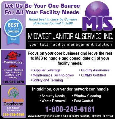 Midwest Janitorial email ad