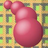 4 red balls