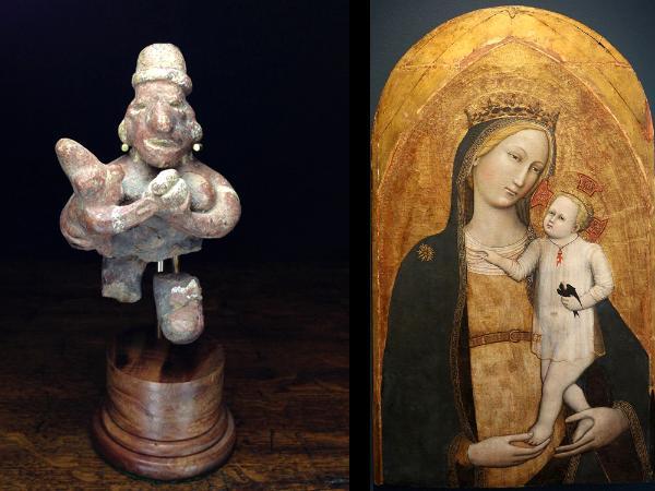 Precolumbian art and Medieval Art