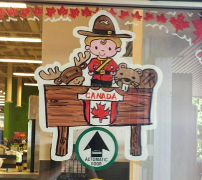 Mountie and friends