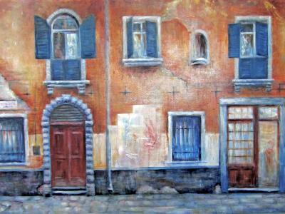 Tuscany Wall No2 - SOLD