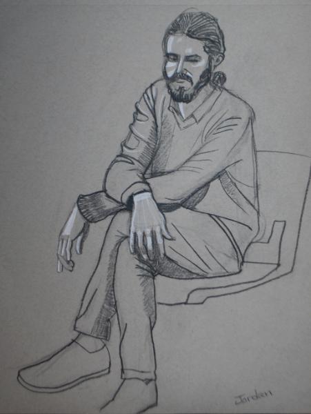 Jordan, Seated