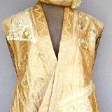 Indian silk ensemble