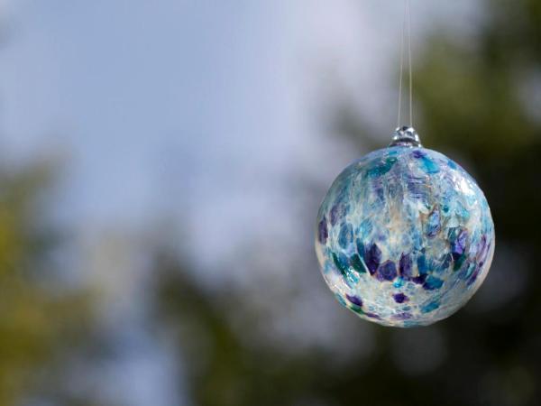 Hand blown Glass Ornament Class