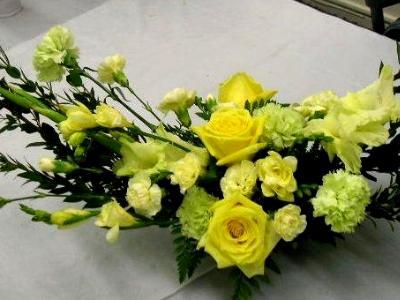 funeral floral decoration