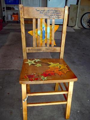 TROY'S CHAIR