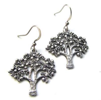 Tree earrings beautifully detailed Tree of Life earrings