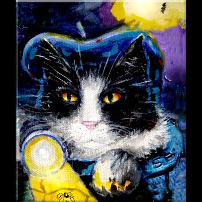 KORA THE CAT BURGLAR