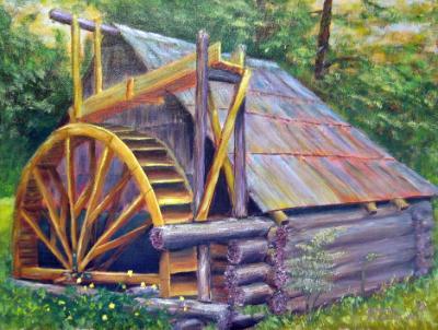 Paddlewheel House