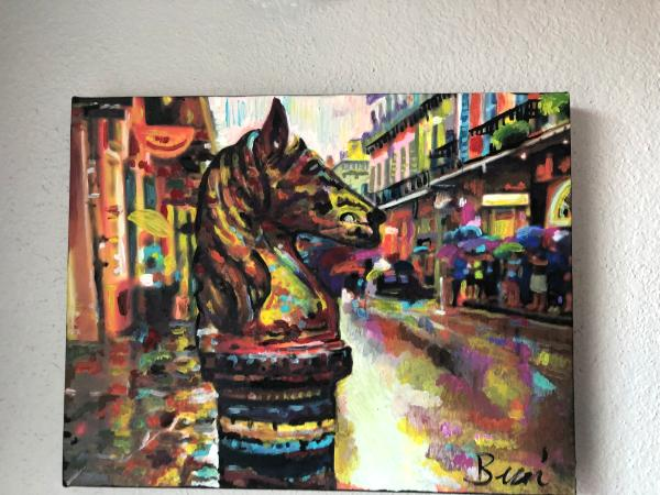 Iron horses of New Orleans