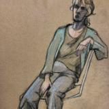 Donna, Seated in Slacks (Sold)