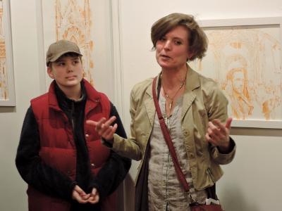Freeze Frame opening at artisan Collective