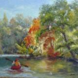 I Spy...Kayaking on the River, JMH