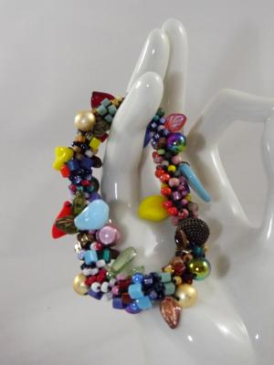 B-109 confetti bracelet