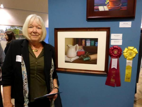 Awards night at the san diego county fair fine art show for Howard county craft fair