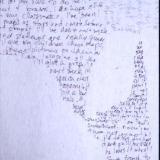 I remember (detail of text)