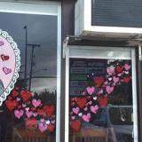 Valentine's windows