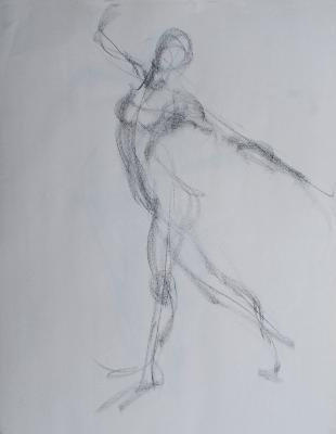Brittany, Nude Gesture #1