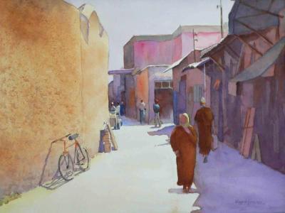 Back Street in Marrakesh