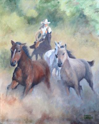 Baja Roundup (Painting)
