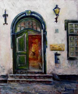 Green Door in Riga - SOLD
