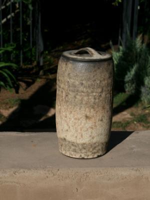 Volcanic Lidded Jar