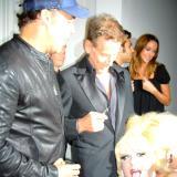 LaChapelle, Lady Bunny & Calvin - Art Basel MB