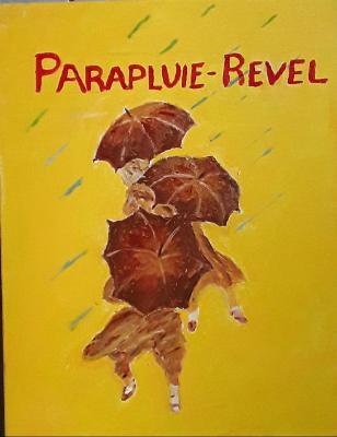 1932 French Umbrella Ad