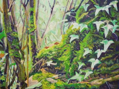 In an English jungle
