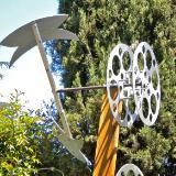 The Axe, garden kinetic sculpture
