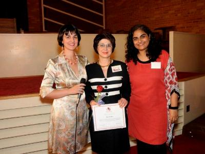 with Marga Fripp EWI president