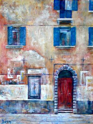 Wall in Tuscany - SOLD