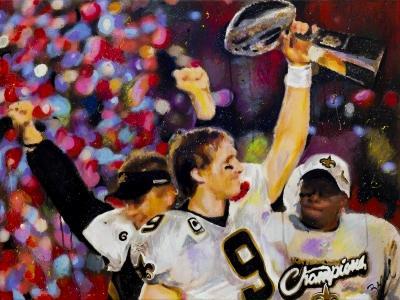 saints Super Bowl champs