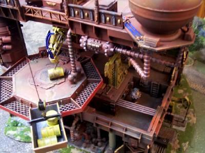 Refinery Fuel Pad