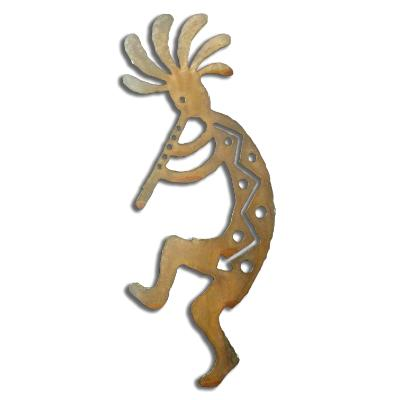 Flute Kokopelli Left - Available in four sizes.  See description.